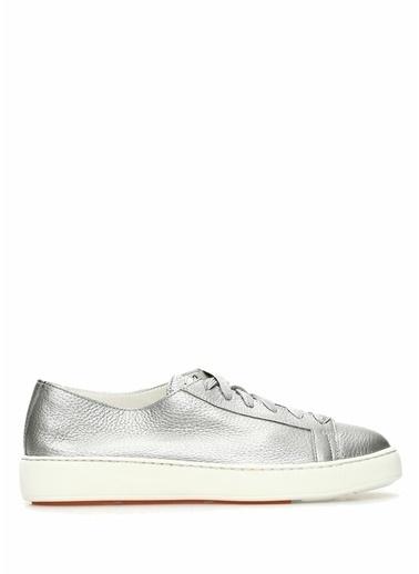 Santoni Sneakers Gümüş
